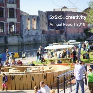 5x5x5=creativity Annual Report 2018