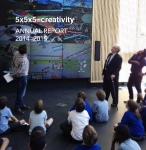 5x5x5=creativity Annual Report 14-15