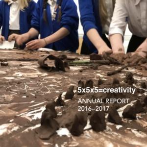 5x5x5=creativity Annual Report 16-17